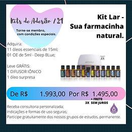 Kit Lar: Sua Farmacinha Natural