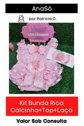 Kit Bunda Rica