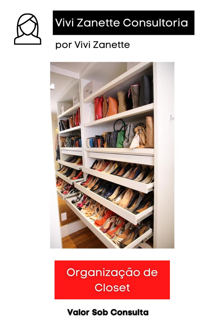 Organização de Closet | Valor sob Consulta