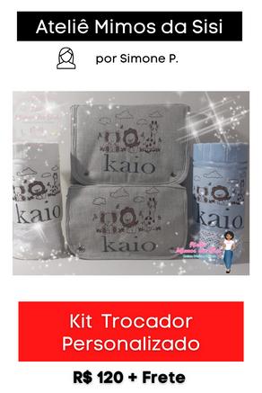 Kit Trocador Personalizado