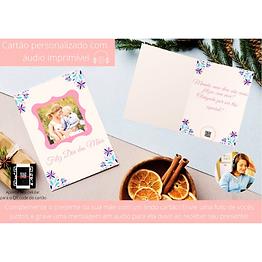 Cartão Personalizado com Áudio Imprimível