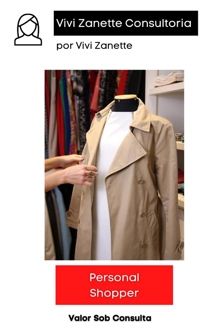 Personal Shopper | Valor sob Conulta