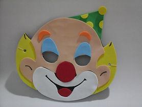 Máscara em EVA Palhaço