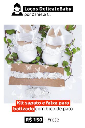 Batizado | Kit Sapato + Faixa