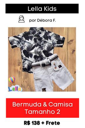 Conjunto: Bermuda + Camisa