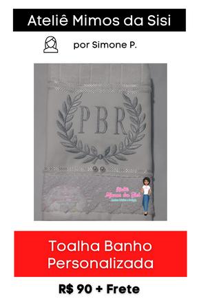 Toalha Banho Personalizada