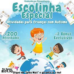Escolinha Especial: Atividades para Crianças com Autismo