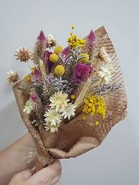 Buquê de Flores Desidratadas