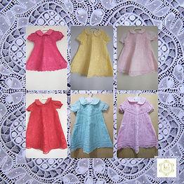 Vestido Infantil Colorido