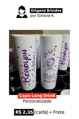 Copo Long Drink | Personalizado