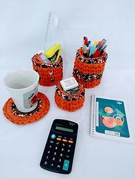 Kit Decorativo em Crochê