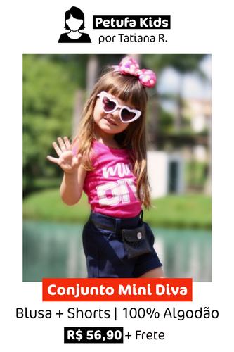 Conjunto Mini Diva