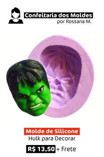 Molde de Silicone | Hulk