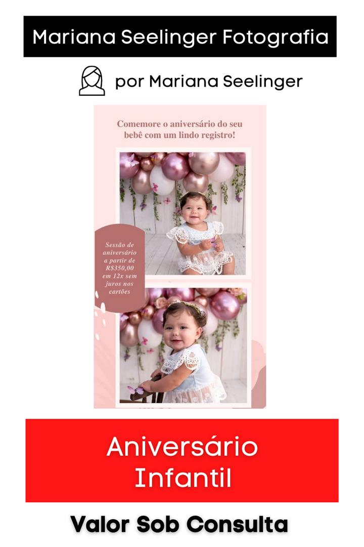 Cobertura Fotográfica   Aniversário Infantil