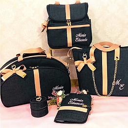 Kit Bolsas de Maternidade Personalizado Luxo