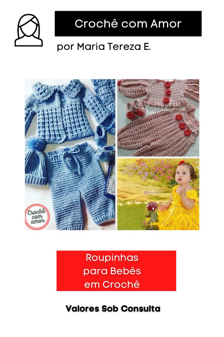 Roupinhas para Bebês em Crochê
