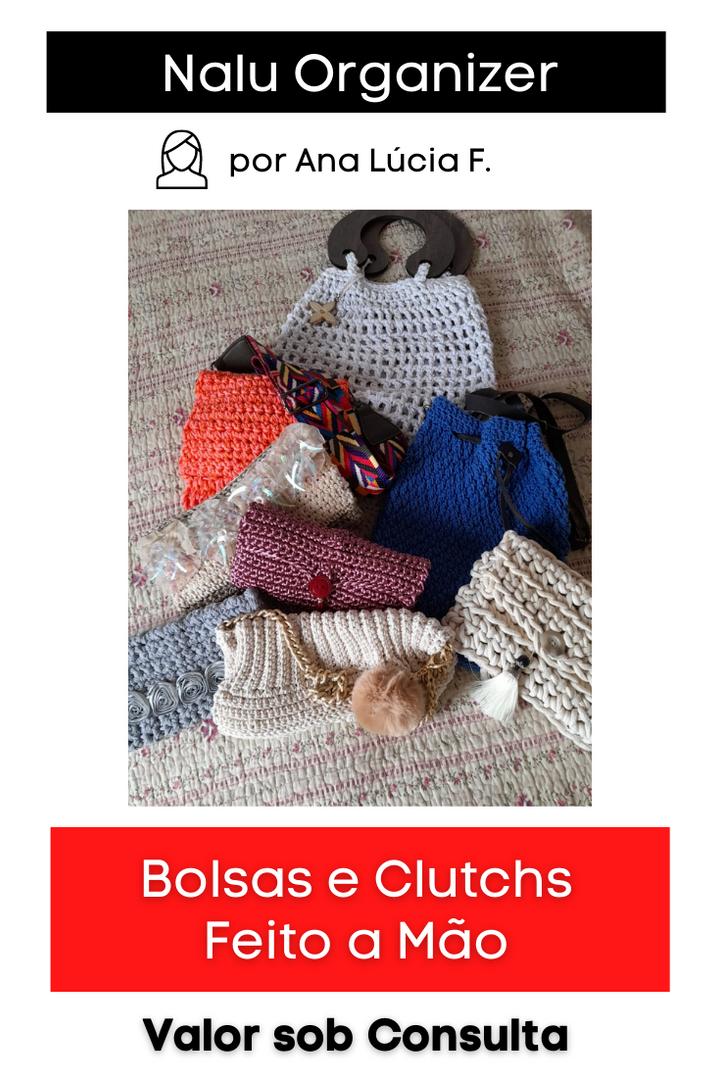 Bolsas e Clutchs   Diversos modelos e cores