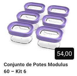 Kit 6 Potes