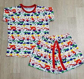 Pijama Infantil Verão em Malha
