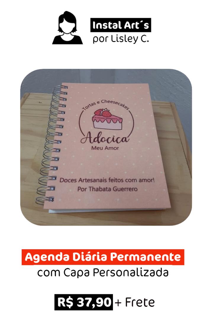 Agenda Diária Permanente | Personalizada