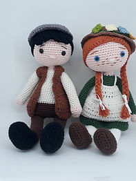 Casal Anne Shirley e Gilbert Blyte