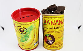 Banana Passa com Chocolate - 100gr