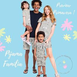 Pijama Família