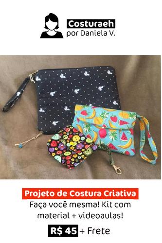 Projeto de Costura Criativa | Faça você mesma!