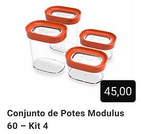 Kit 4 Potes