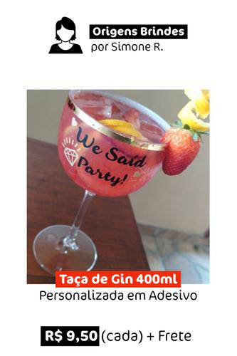 Taça de Gin | Personalizada