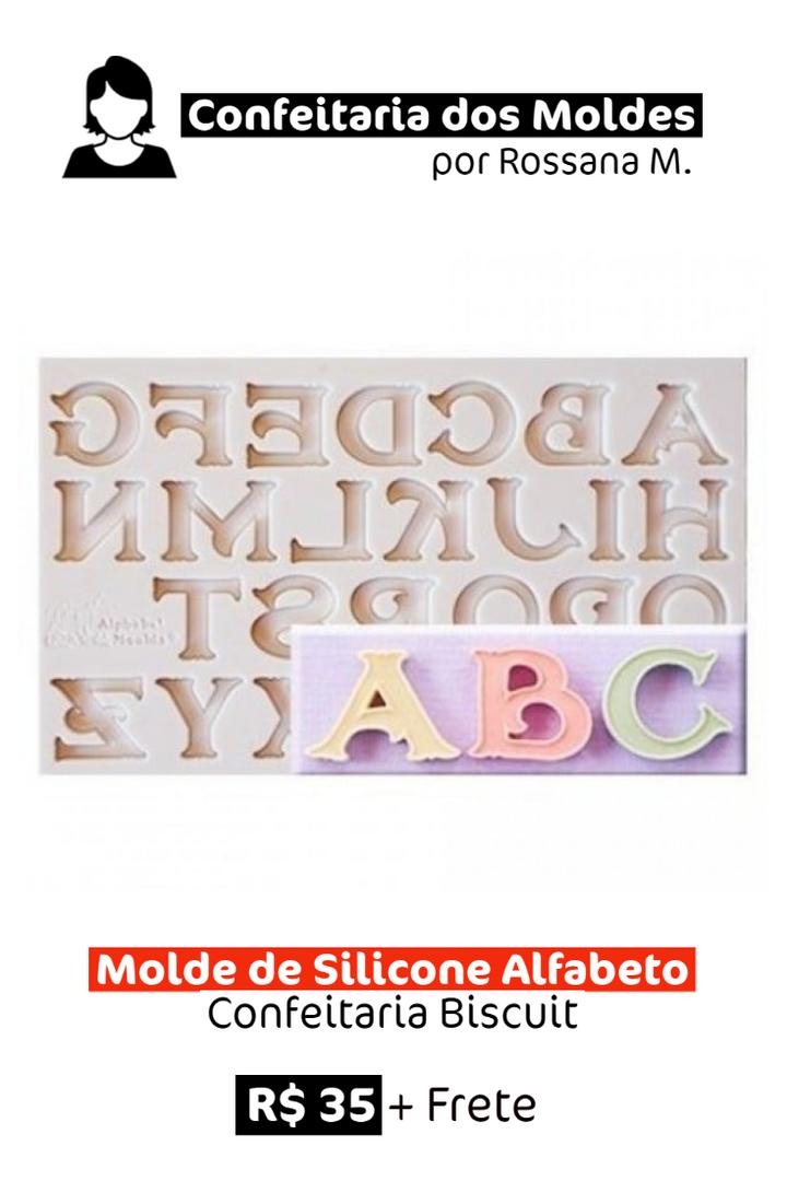 Molde de Silicone | Alfabeto