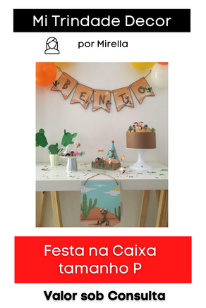 Festa na Caixa | Tamanho P
