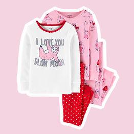 Pijama Carter's 4 peças