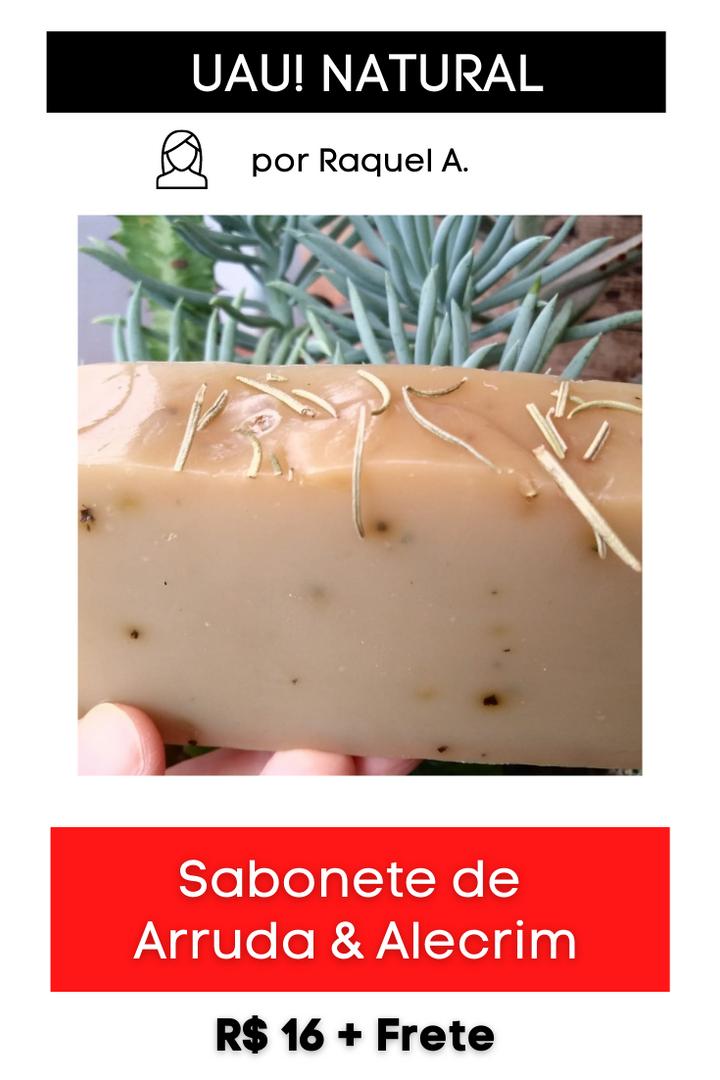 Sabonete de Arruda & Alecrim