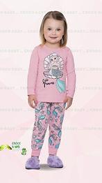 Pijama Longo Sereia