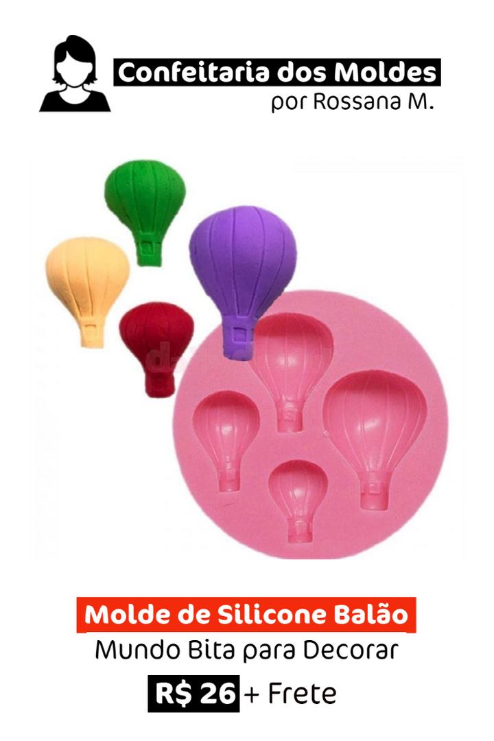 Molde de Silicone | Mundo Bita Balão