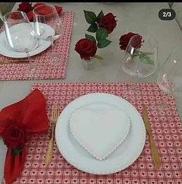 Kit Mesa Posta Dia dos Namorados