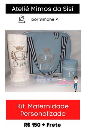 Kit Maternidade Personalizado
