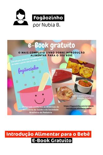 Introdução Alimentar para o Bebê | E-book Gratuito