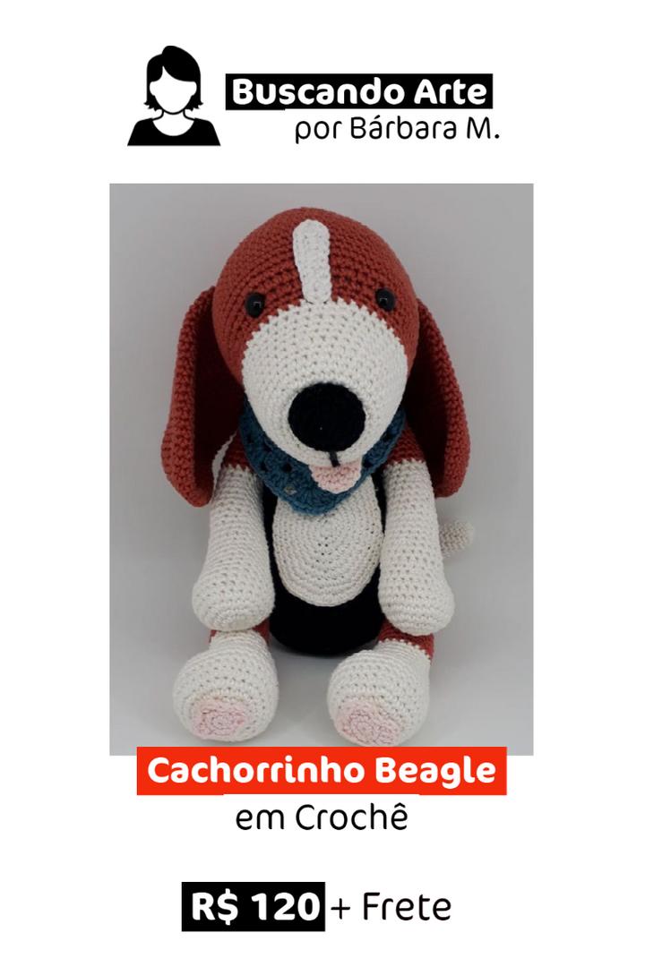 Cachorrinho Beagle em Crochê