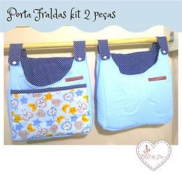Kit Porta Fraldas