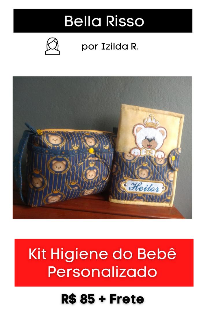 Kit Higiene do Bebê Personalizado