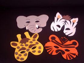 Máscara em EVA Safari