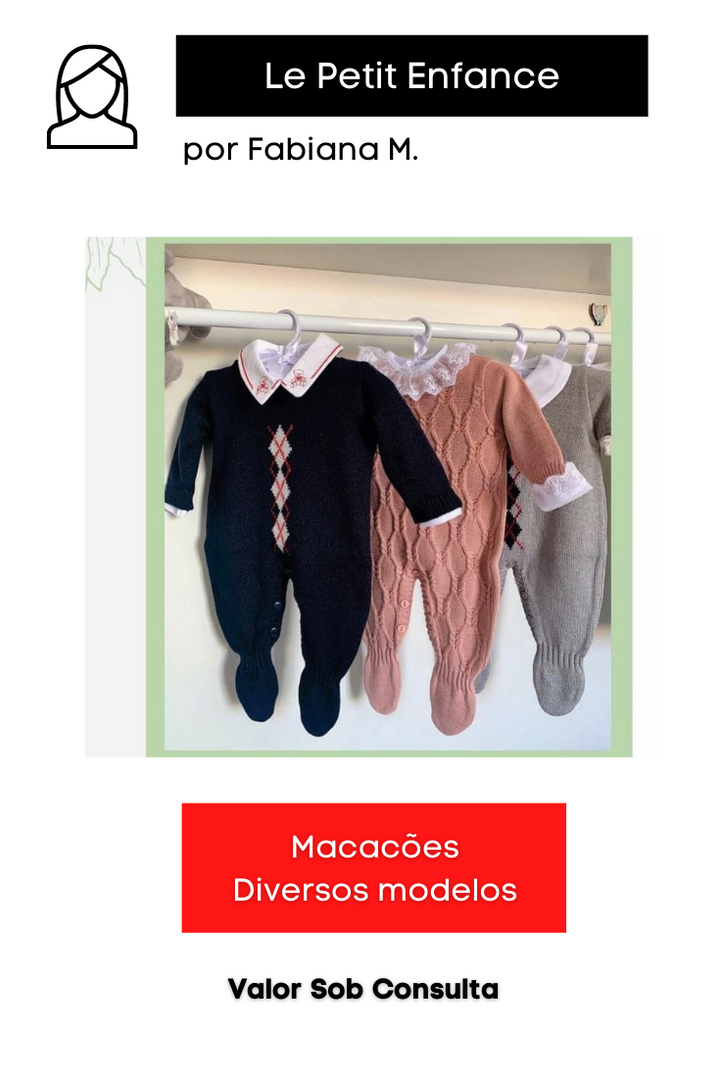 Macacões | Diversos Modelos