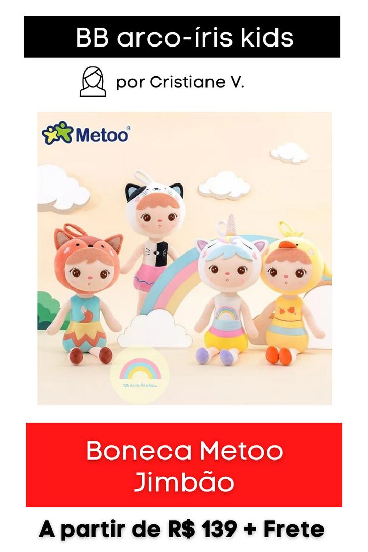 Boneca Metoo Jimbão