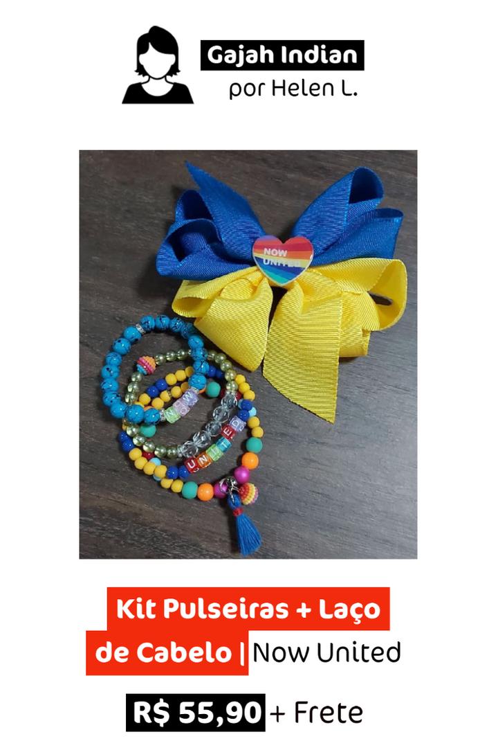 Kit Pulseira + Laço | Now United