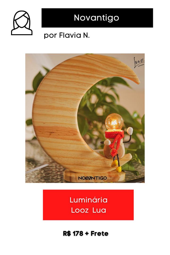 Luminária Looz Lua