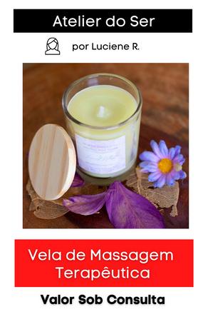 Vela de Massagem Terapêutica: Meditação e Yoga