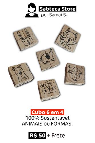 Cubo 6 em 4 | 100% Sustentável