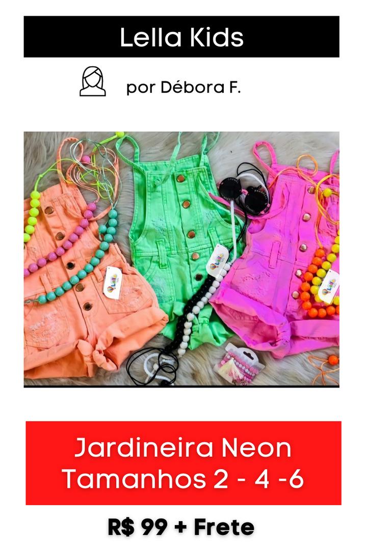 Jardineira Neon